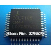 Wholesale ICL7106CM44 QFP ICL7106CM ICL7106 Digit LCD LED Display A D Converters