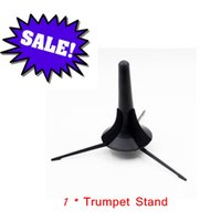 Wholesale High Quality Trumpet Tripod Holder Trumpet Stand Metal Leg Detachable Portable Design Trumpet Accessories order lt no track