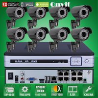 arrayed box - 8CH CCTV System TB HDD Onvif P HD H Varifocal mm mm Array IR IP Camera POE Security Surveillance NVR Kit