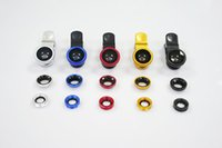 Wholesale Mobile Phone Accessories Parts Mobile Phone Lens Universal Clip in Fish Eye Wide Angle Macro Fisheye Mobile Phone Lens For
