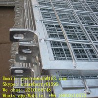 Wholesale Direct Factory Hot dipped Galvanized Protective Wire Mesh Fence Frame Type PVC Coated Or Powder Coated Outside