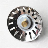 Wholesale 2015 New Trendy Kitchen Accessorioes Stainless Steel Sink Strainer Waste Disposer Plug Drain Stopper Filter