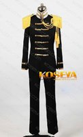 Cheap Free Shipping New Arrival APH Axis Powers Hetalia Japan Cosplay Costume Black Anime Character Halloween Clothing Tailor-Made