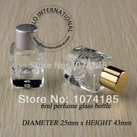 Wholesale 50pcs x ml empty perfume bottle sample vials miniature fragrance cosmetic glass bottles bottle containers vintage for perfume