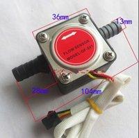 Wholesale NEW mm Gear flow sensor Liquid Fuel Oil Flow Sensor Counter diesel gasoline