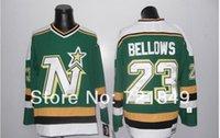 bellows china - 2016 New Customer good quality evaluation brand china sport jerseys men s cheap Hockey Dallas Stars BELLOWS GREEN v