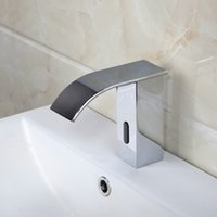automatic tap sensor - 89028 Automatic sensor bathroom chrome polished finish basin faucet tap mixer
