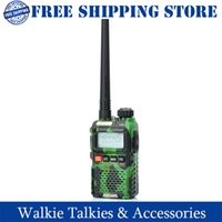 Wholesale Baofeng BF UV3R quot LCD W MHz MHz Dual Band Channel Walkie Talkie Camouflage