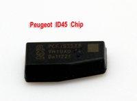 For Peugeot batteries transponders - ID45 Chip carbon Transponder chip car key chip auto chip for Peugeot car key locksmith tool lock pick tool