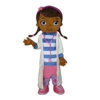 Free Size athletic clothes - Adult Size Doc Mcstuffins Mascot Costume Christmas Carnival Party Fancy Dress Brand New Cartoon Character Clothing