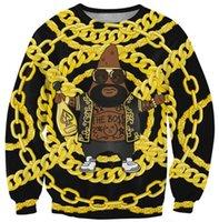 alternative sweatshirt - wholesales Tracksuits New hoodies Feminino Printed D Women Men Alternative Tyrant gold Sweatshirt Female Hoodies Sport Suit