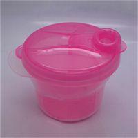 Wholesale 1Pcs Portable Baby Milk Feeding Powder Dispenser Container Compartment Food Storage Box Hot Sale