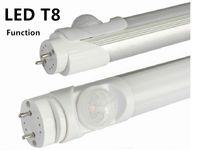 replacement led lights - Hot sales function led tube lamp LED PIR Sensor Tube Light Retrofit Fluorescent Energy Saving T8 T12 Replacement home school
