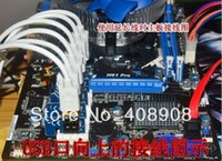 Wholesale 10pcs PCI E x to x mining machine enhanced extender riser adapter with power cable cm