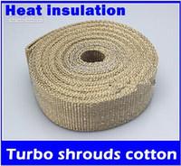 Wholesale Turbine shrouds cotton insulation of high temperature automotive exhaust banana fireproof insulation