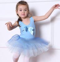 ballet vest - Cotton Solid Bowknot Vest Tutu Tulle Glazed Gauze Tiered Ball Gown Kid Girls Ballet Dancewear Performance Dance and Leisure N1847