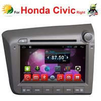 Wholesale Android touch screen car radio for Honda Civic gps navigation car dvd Player Bluetooth din touch screen car stereo