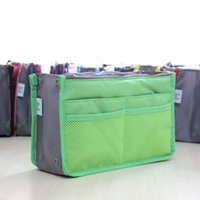 Wholesale Free DHL Promotions Lady s organizer bag in bag handbag buggy bag organizer travel organizer insert with pockets storage