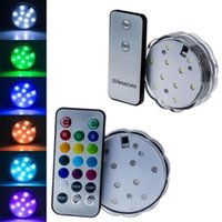 aquarium night light - LED Creative Aquarium Pattern Diving Atmophere Night Light Lamp Base With Remote Control Waterproof