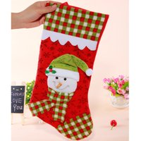 baby husband - H7 large CM box Christmas socks Meng husband fair Eve decorating baby bed ornaments