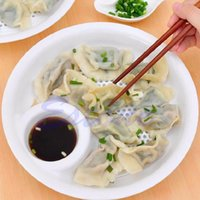 Wholesale Multifunctional And Large Fruit Plate Boiled Dumplings With Vinegar Dish