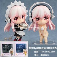 action working - Nendoroid Super Sonico Working Swimsuit PVC Action Figures Collection Model Toys set MNFG078