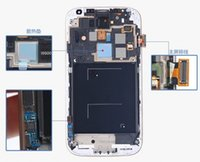 Wholesale For Samsung Galaxy S4 i9500 I337 M919 I545 I9502 I9505 E300K E300S LCD Assembly Display Screen Replacement with Frame