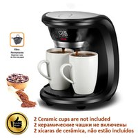 Wholesale NKS TSK Cups Black Color Coffee Machine Without Ceramic Cup American or Nescafe Drip Coffee Maker Machine