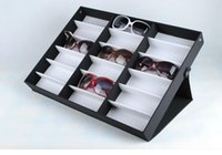 Wholesale New Sunglasses Display Box Grid Can Be Folded Display Shelf Stand For Glasses