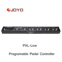 Wholesale Joyo PXL LIVE LOOP Channels Programable Pedal Controller Metal Alloy Durable and Sturdy Guitar Effector order lt no track