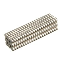 Wholesale 200pcs Super Strong NdFeB Rare Earth Neodymium Fridge Magnets Discs N35 x1mm High Quality