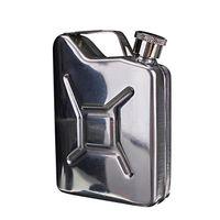 Wholesale Hot Sales oz Hip Flasks Liquor Whisky Pocket Bottle Funnel Portable Flagon Drinkware Stainless Steel C485
