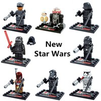 bb collection - D867 New Star Wars Minifigures set Kylo Ren BB R5 D4 Classic figures Collection Children Gift toys Building Blocks