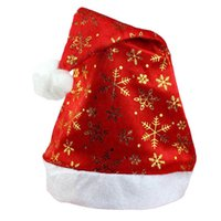 best holiday deals - Best Deal New Christmas Holiday Xmas Cap For Santa Claus Gifts Nonwoven Hats for Merry Christmas Party Decoration PC