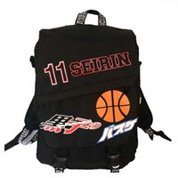 Wholesale New basketball backpack SEIRIN Cartoon Printing Bag Unisex Backpacks Animation Design L Oxford