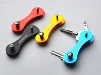 pocket folder - New Smart Keychain Hard Oxide Aluminum Key Clip Folder Chain Pocket Tool CAD