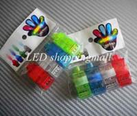 Wholesale 600pcs Hotsale LED finger light Leaser lamp Halloween Gift Beams Ring night light flashing children toy order lt no track