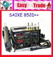 Cheap Free Shipping Saike 852D++ Upgrade from Saike 852D+ 2in1 Hot Air Gun & Desoldering Station 220V Only