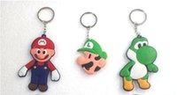 mario land - hot sell Super Mario Bros Cartoon Key chain Children s Christmas gift