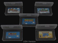 Wholesale Brand New for GBA games cards Super Mario Advance