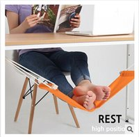 hammock stand - FUUT Canvas Foot Rest Desk Hammock Mini Office Foot Rest Stand Desk Feet Hammock The Foot Hammock Comfortable for Your Foot m00921