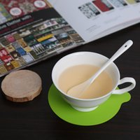 round table - Round Silicone Cup Coaster Mat Pad Tableware Dinnerware Placemat Kitchen Dining Bar Accessories Tools PC Table Decoration H15378