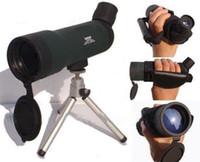 Wholesale 20x50 Zoom HD Monocular Outdoor Telescope With Portable Tripod Night Version Spotting Scope HW205
