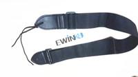 Negro Ancho 50 mm correa de nylon para guitarra eléctrica acústica Bajo Nuevo y de alta calidad