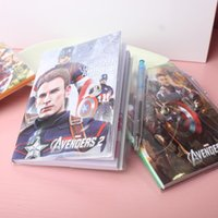 Wholesale The Avengers Alliance Notebook Note Book Notes Notepads Fashion as a Christmas present L0399A