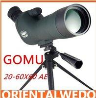 Wholesale New BK7 GOMU X60 AE Single Tube telescope Multi Coated Spotting Scope Brand E0135A Alishow top sale
