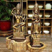 Wholesale Kampuchea Angkor Wat Southeast Asian style flying Shiva handicrafts of India statue