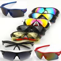 Wholesale Men Women Cycling Eyewear Sunglasses Fashion Upgrade Bicycle Bike Sports Sun Glasses Riding Fishing Glasses Shades UV400 Protection