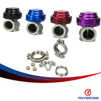 Wholesale PQY RACING MVS mm WASTEGATE WITH V BAND AND FLANGES MV S TURBO WASTEGATE WITH LOGO PQY5831