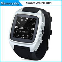 All Compatible English Passometer New Smart Watch X01 Waterproof IP67 Dual Core Bluetooth Watch IPS Screen Support GPS WIFI Video Player For Android 010220